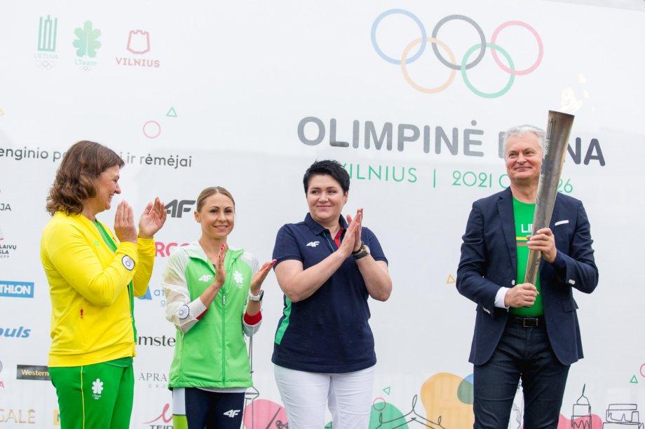 Olimpinė diena 2021: finalinio renginio startą paskelbė LR Prezidentas G. Nausėda ir olimpiečiai