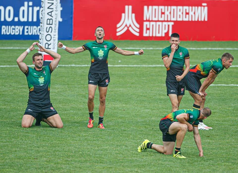 Lietuvos regbininkai, Maskvoje įveikę Rusijos rinktinę - Europos čempionato finale