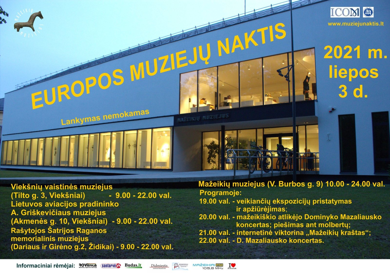 Europos muziejų naktis Mažeikių muziejuje