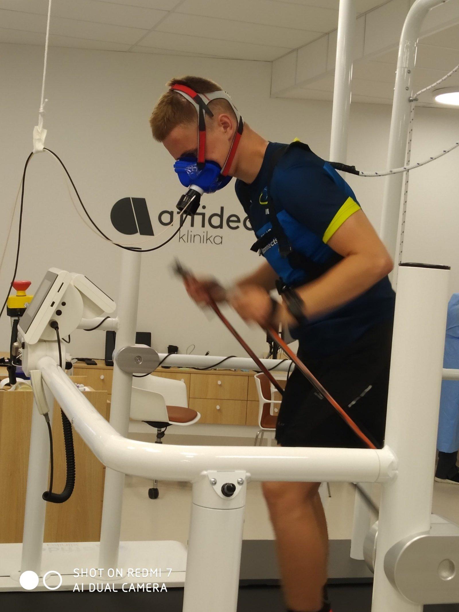 Anykščių biatlonininkai aktyviai ruošiasi būsimoms varžyboms