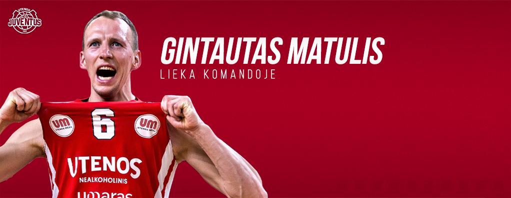 """Legenda lieka: """"Juventus"""" pratęsė sutartį su G.Matuliu"""