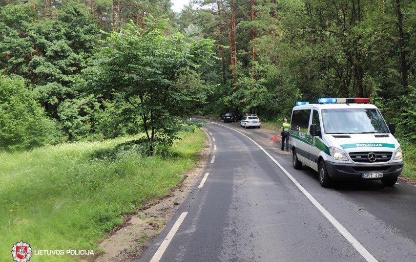 Praėjusi para keliuose: eismo įvykių neišvengta