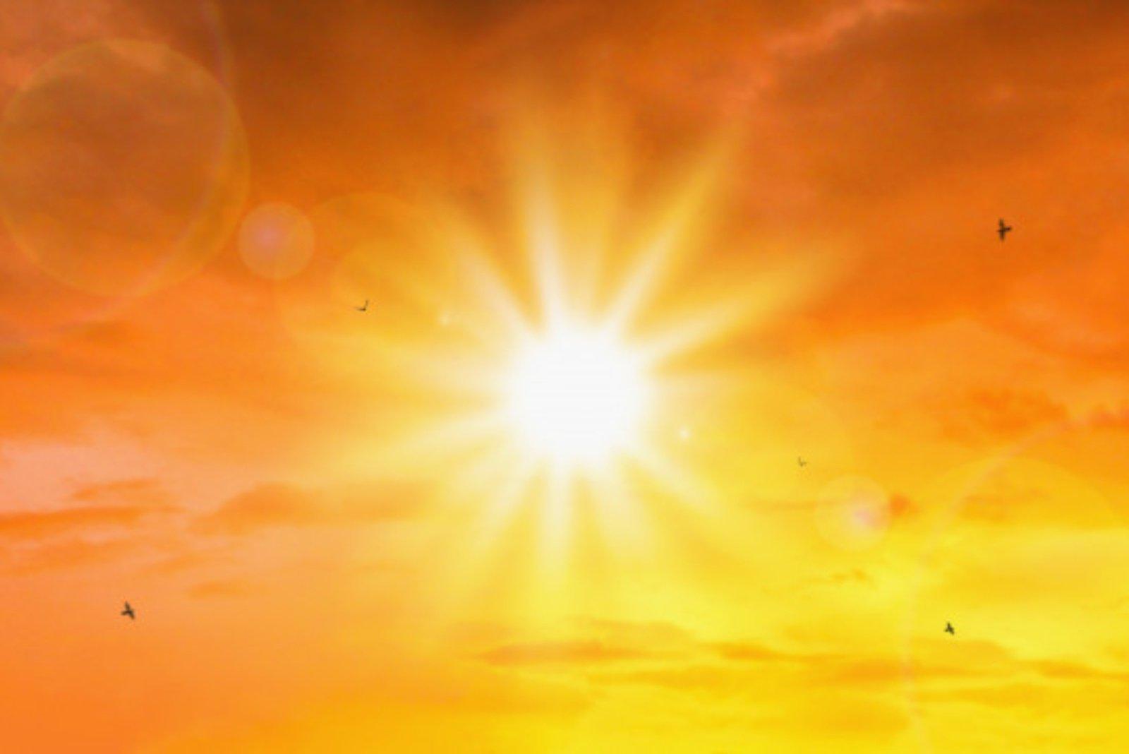 Saulė išspjovė galingiausią žybsnį nuo 2017 metų
