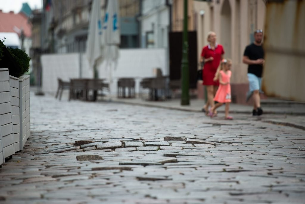Rekonstrukcijai uždaroma Kauno senamiesčio pagrindinė gatvė