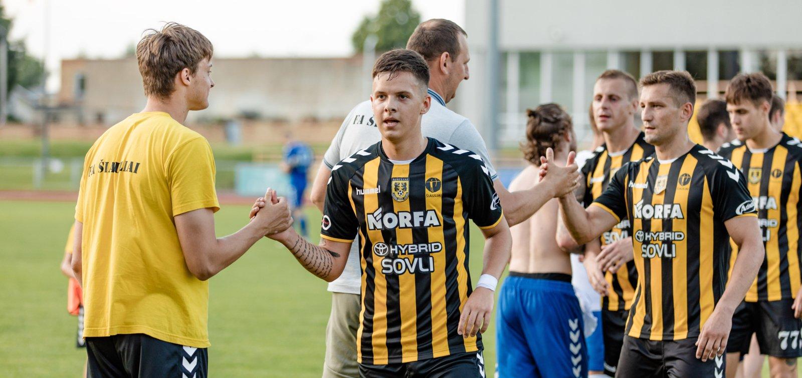 Hegelmann LFF taurės ketvirtfinalio etape - mūšis su žemaičiais
