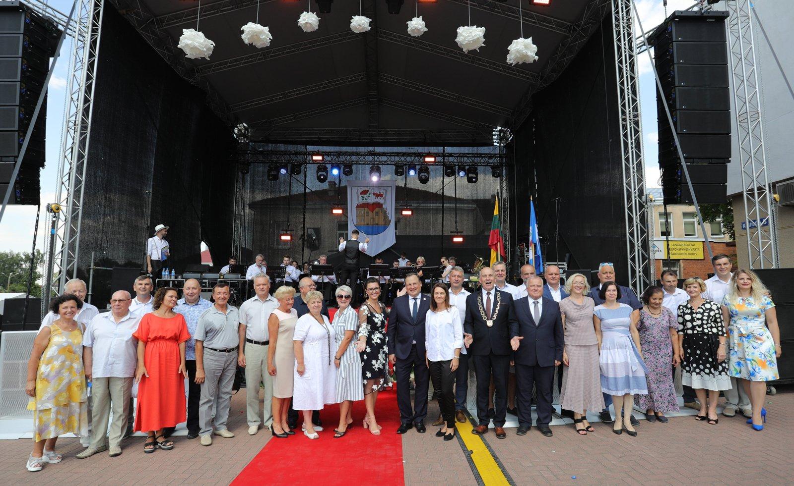 Ukmergės miesto šventėje – svečiai iš Latvijos