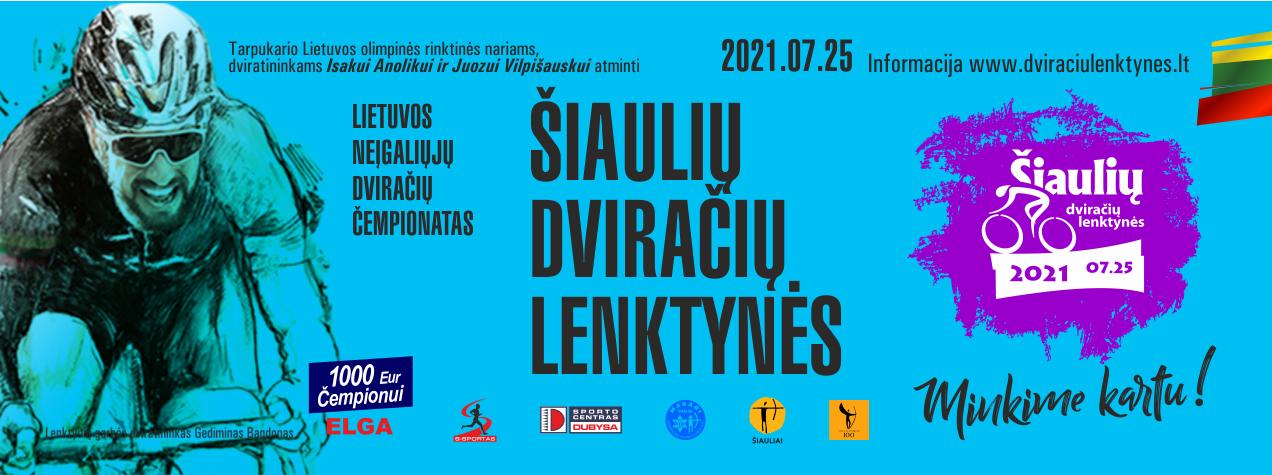 Aivaras Strockis: Šiaulių dviračių diena 2021 – Šiaulių sporto 100-mečio renginys