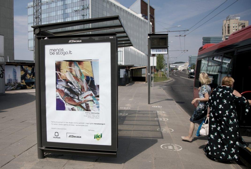 """""""Menas be stogo"""" grįžo: Vilnius tapo didžiule meno galerija po atviru dangumi"""