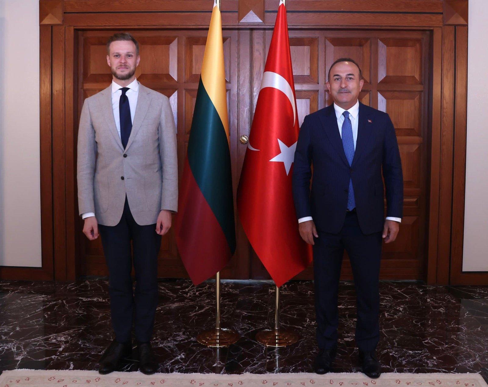 G. Landsbergis Turkijoje derino bendrus veiksmus, stabdant į Lietuvą iš Baltarusijos plūstantį nelegalių migrantų srautą