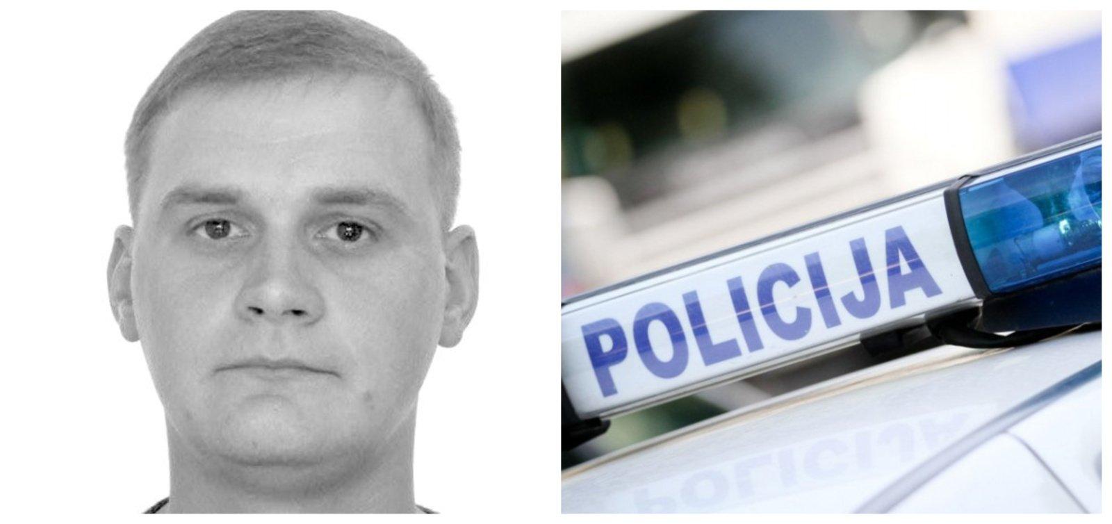 Policija ieško be žinios dingusio Dainiaus Šraibos