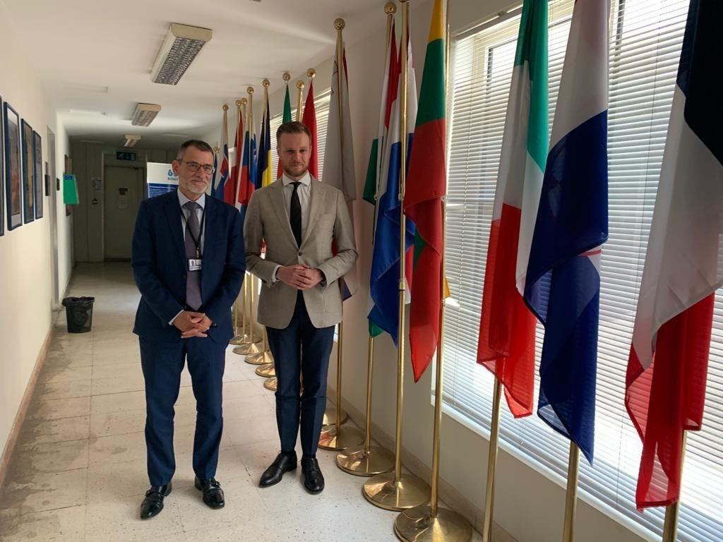 Lietuva ir Irakas susitarė dėl glaudesnio bendradarbiavimo sprendžiant nelegalių migrantų krizę