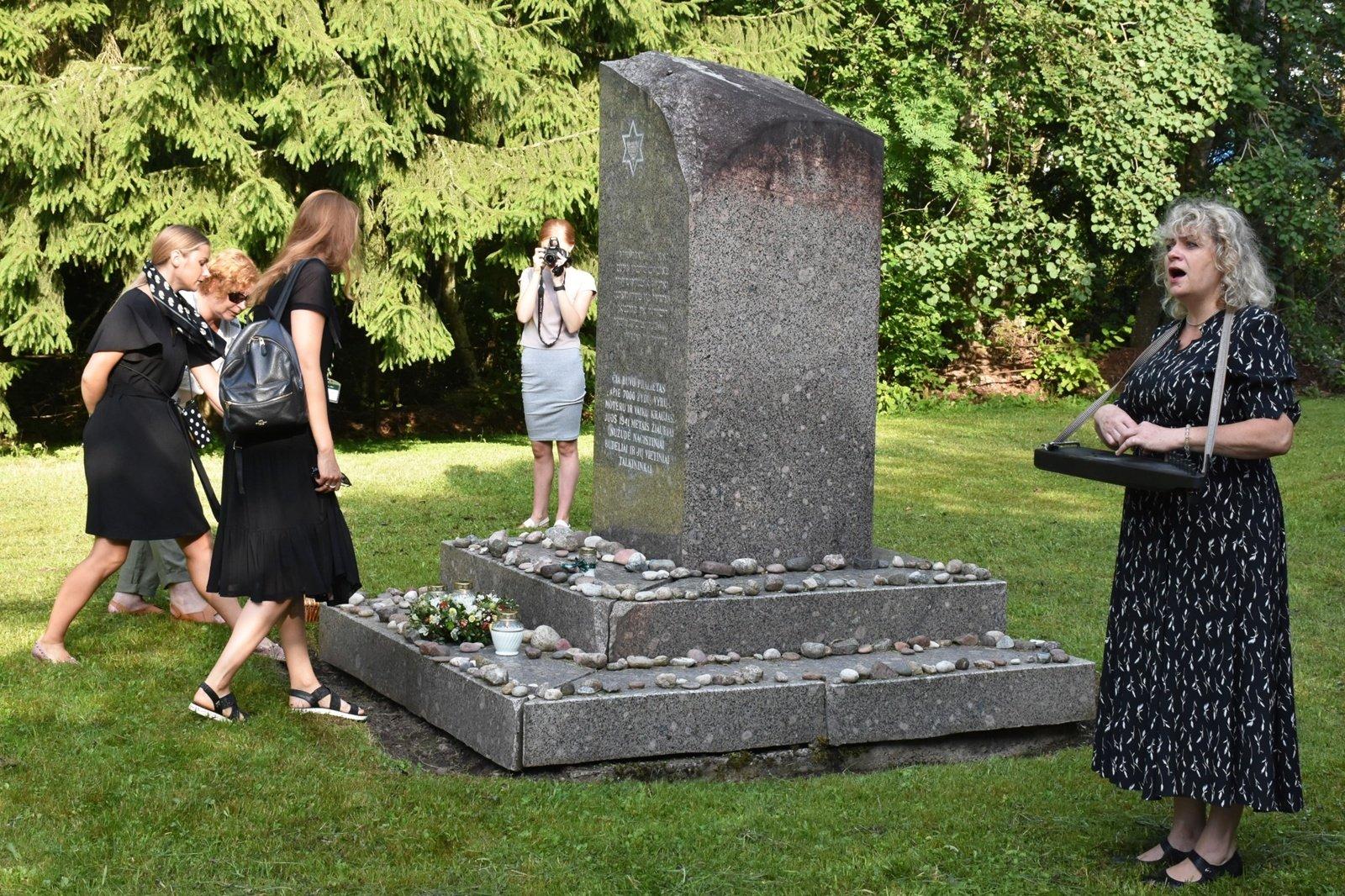 Rainiuose pagerbtos Holokausto aukos