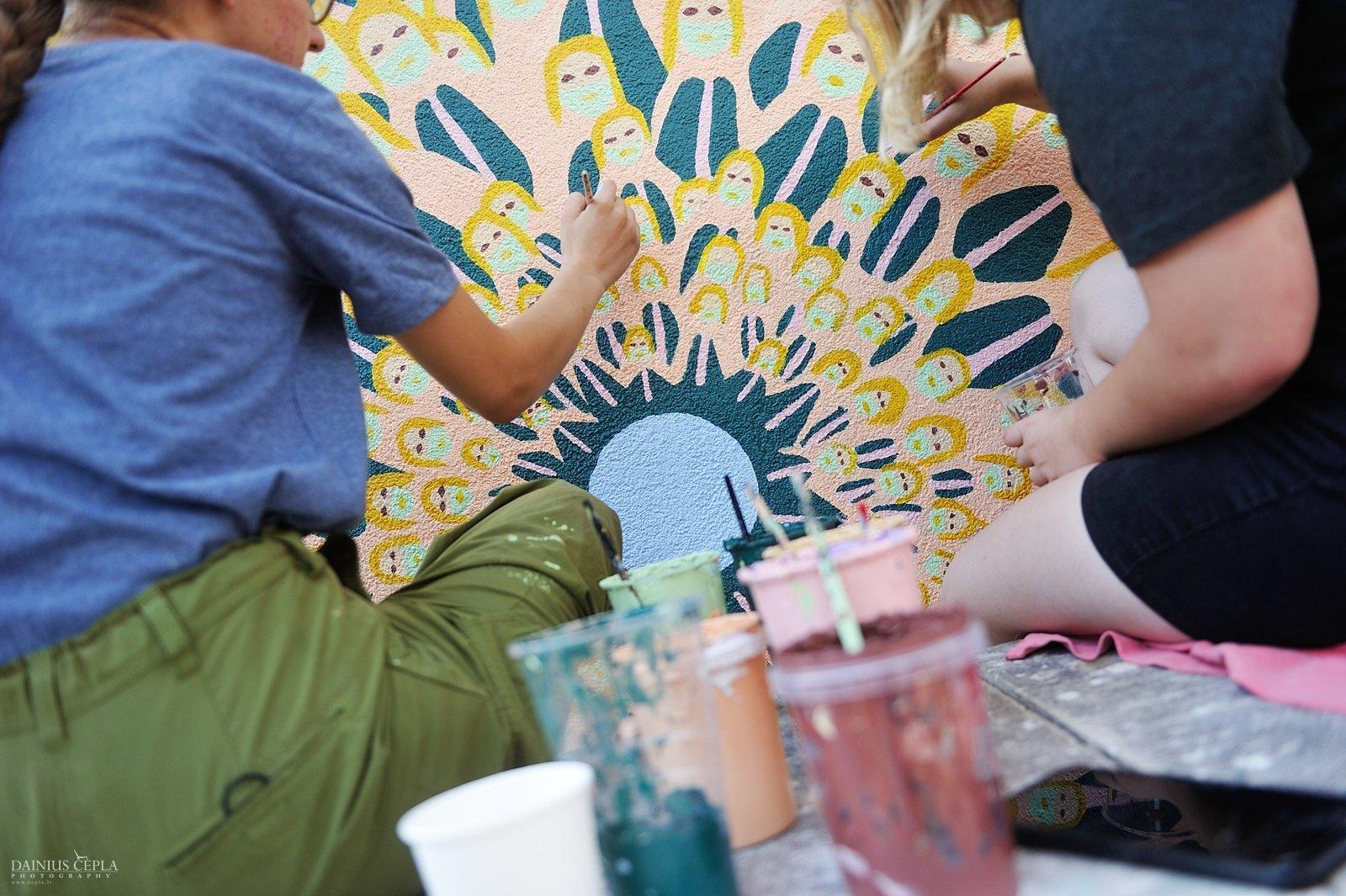 Malonny'8 sienų tapybos konkursas jau paskelbtas
