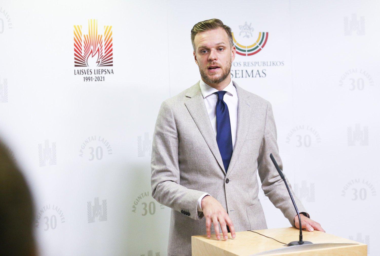 G. Landsbergis kreipiasi į nelegalią migraciją planuojančius irakiečius: jūs sumokėsite 10 tūkst. eurų už gyvenimą palapinėje