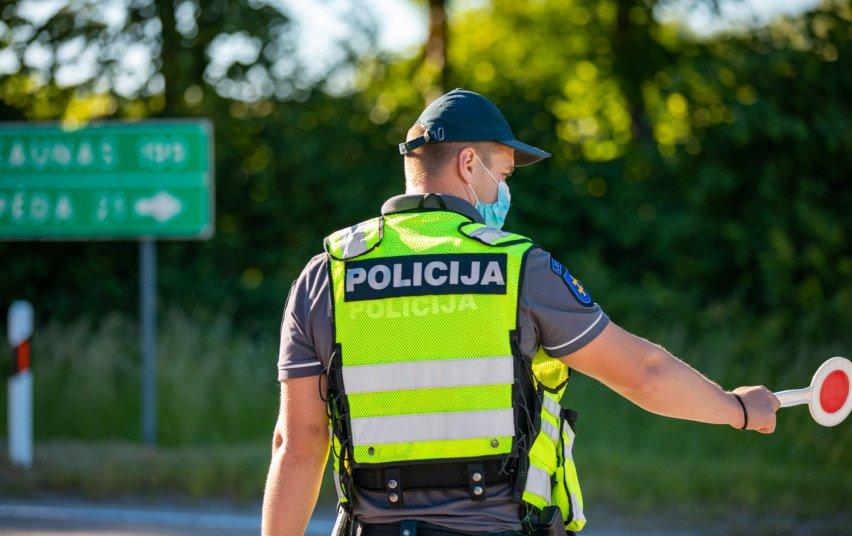 Klaipėdos apskrities Kelių policijos priemonių rezultatai – 13 neblaivių vairuotojų