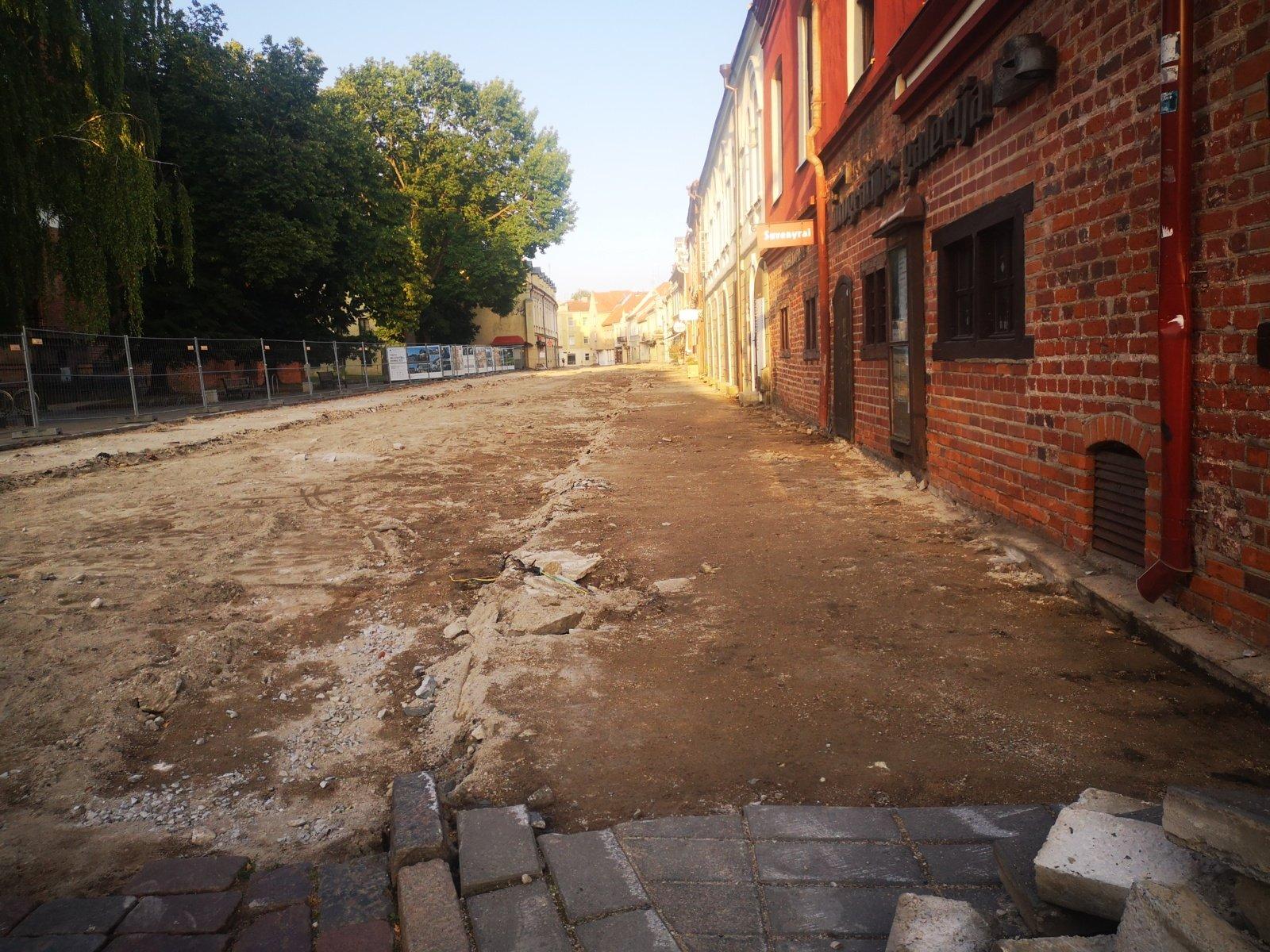 Kauno opozicija ragina skirti verslininkams lengvatas dėl uždarytos Vilniaus gatvės