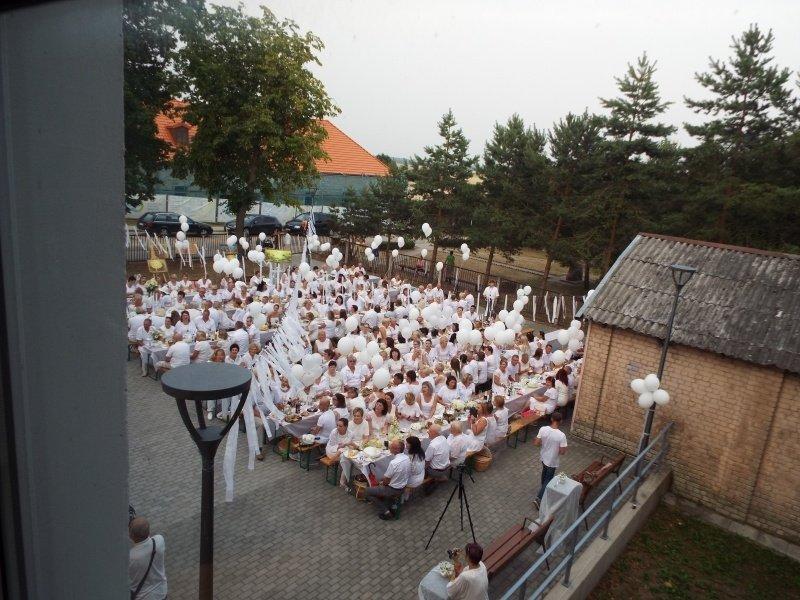 Linkuvos miesto šventė: balta spalva, džiazas ir Škaplierinės atlaidai