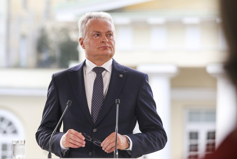 G. Nausėda pasirašė pataisas dėl migrantų teisių ribojimo