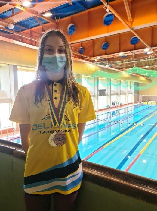 Pagerinti du Lietuvos plaukimo rekordai