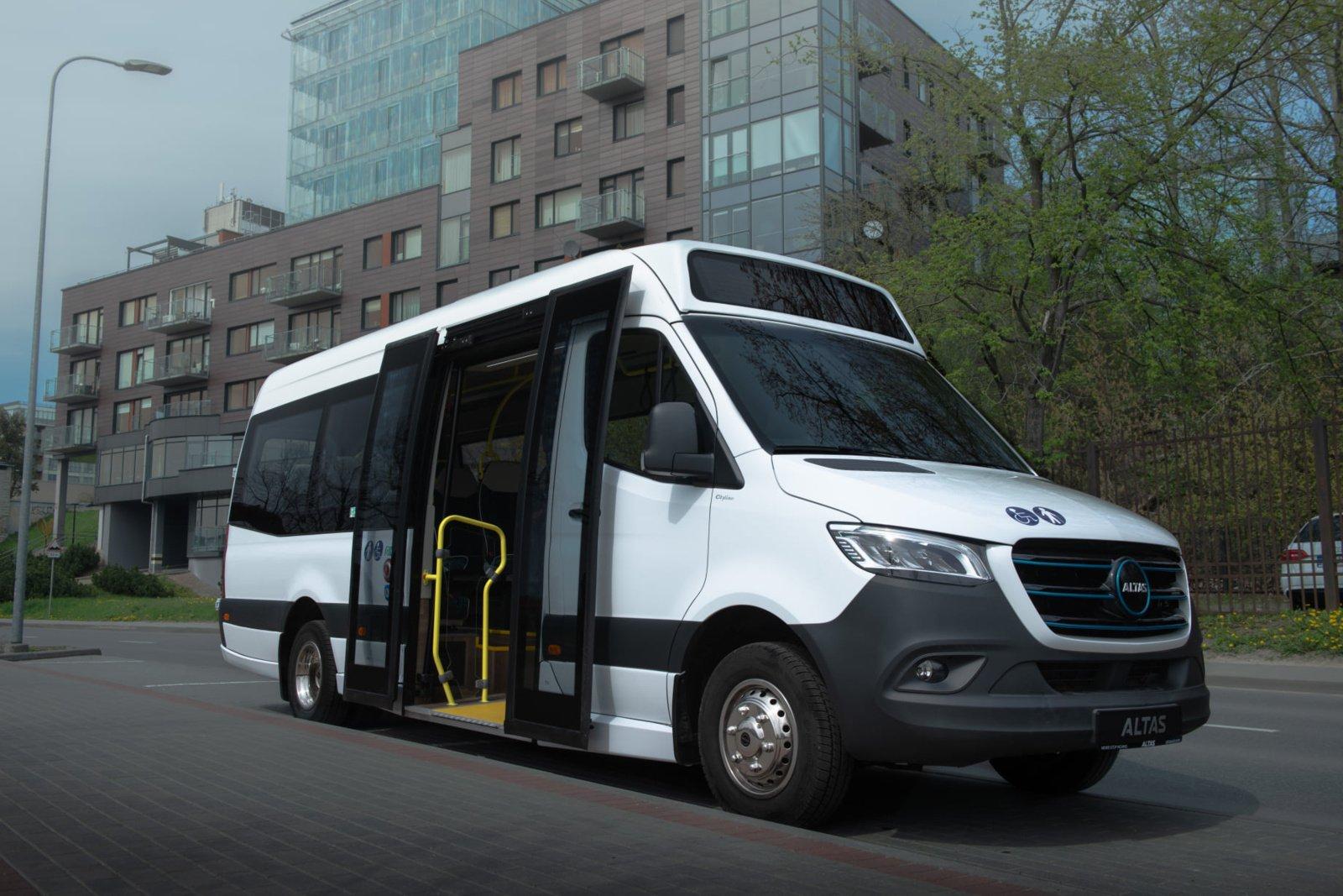 Druskininkai nupirko pirmuosius elektra varomus autobusus