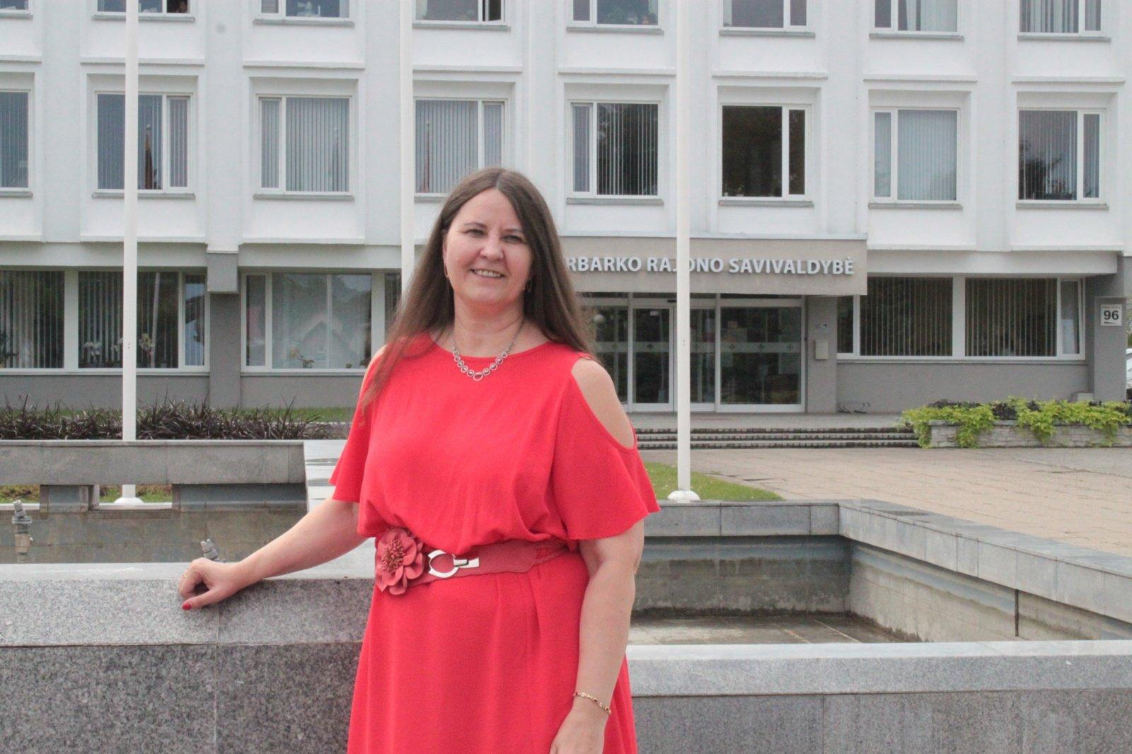 Jurbarko r. savivaldybę palieka Švietimo, kultūros ir sporto vedėja Jolita Jablonskienė