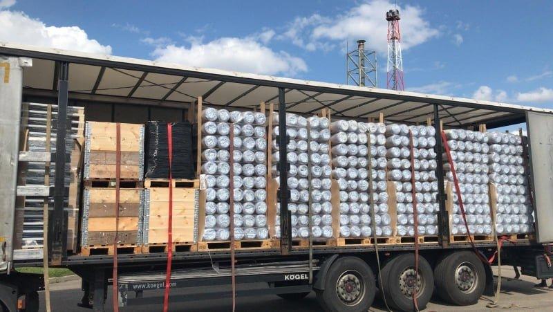 Lenkijos humanitarinė pagalba Lietuvai – kelios dešimtys palapinių, šimtai lovų