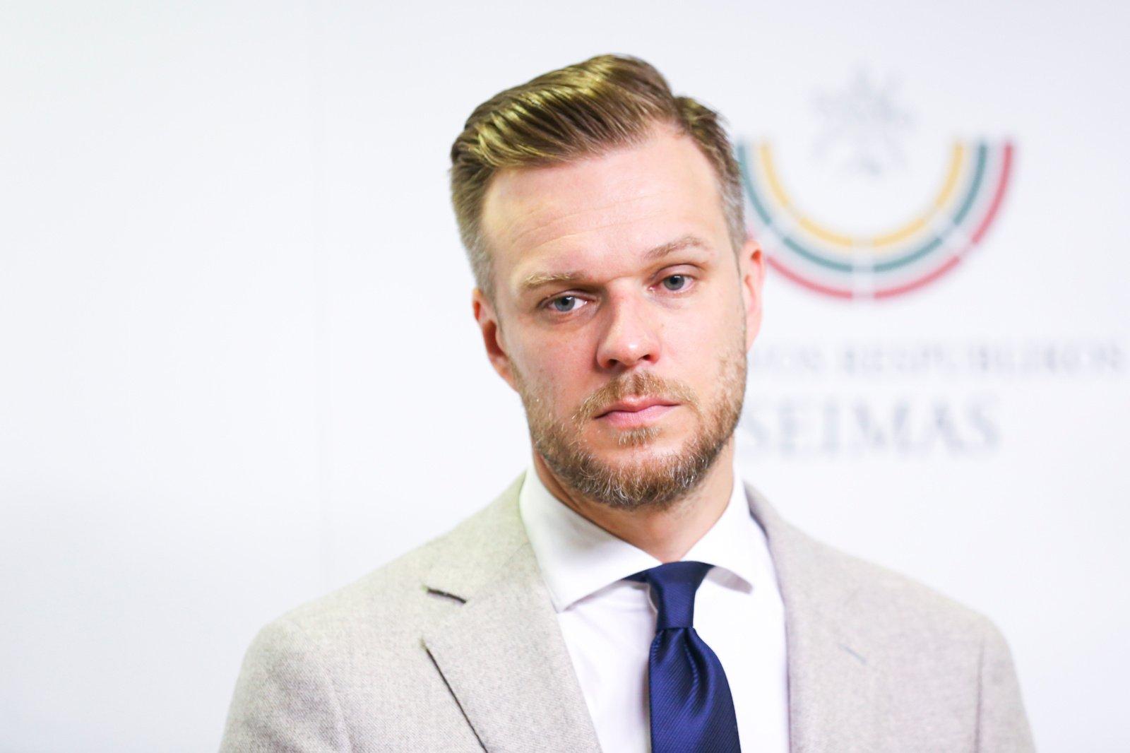 """G. Landsbergis: """"Valdant migrantų krizę svarbi vieninga Lietuvos politikų siunčiama žinutė"""""""