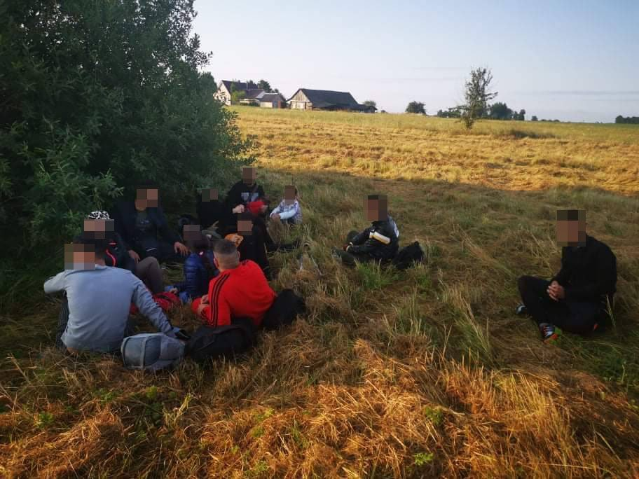 Ketvirtadienį pasieniečiai sulaikė 92 neteisėtus migrantus
