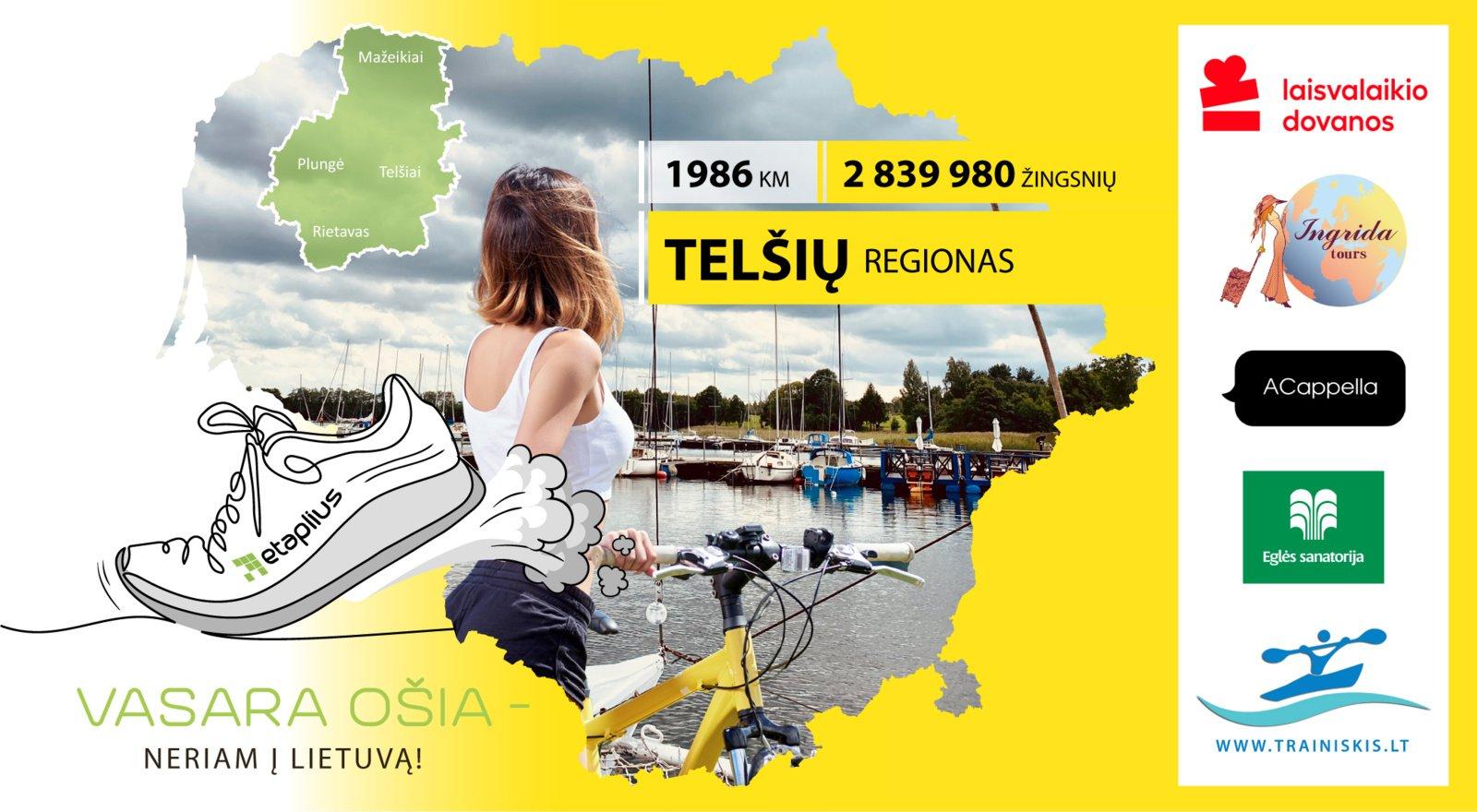 """""""Vasara ošia - neriam į Lietuvą"""": Telšių regione ir pamatysite, ir pailsėsite"""