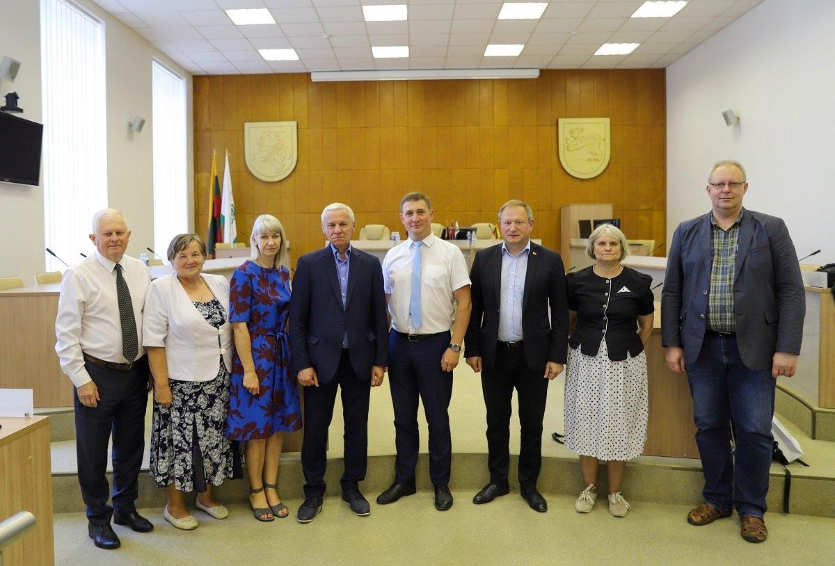 Raseinių rajone lankėsi žemės ūkio viceministras