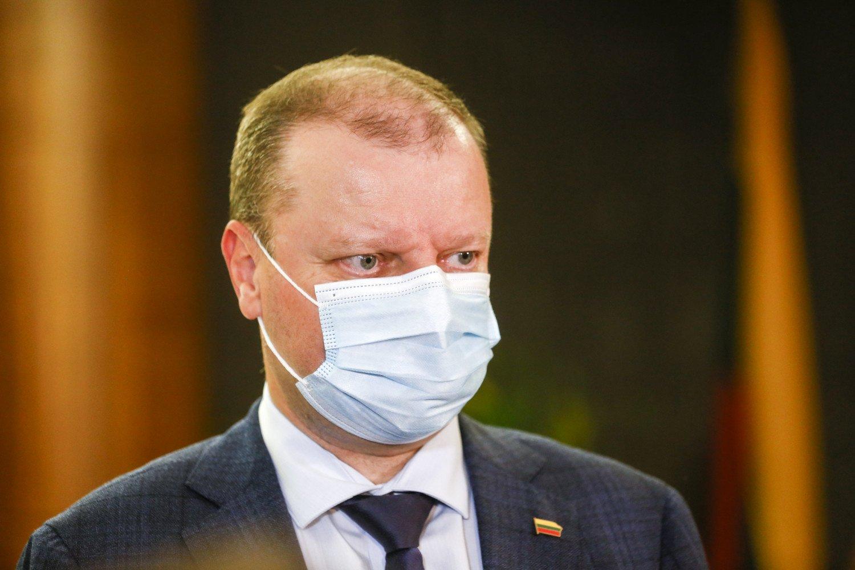 Seimo opozicijos lyderis: tam tikrose vietovėse gali būti įvedama nepaprastoji padėtis