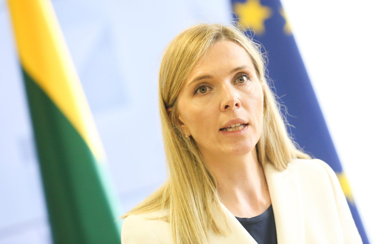 Ministrė dėl protesto Rūdninkuose kreipėsi į teisėsaugą: tai akivaizdi piktybinė provokacija