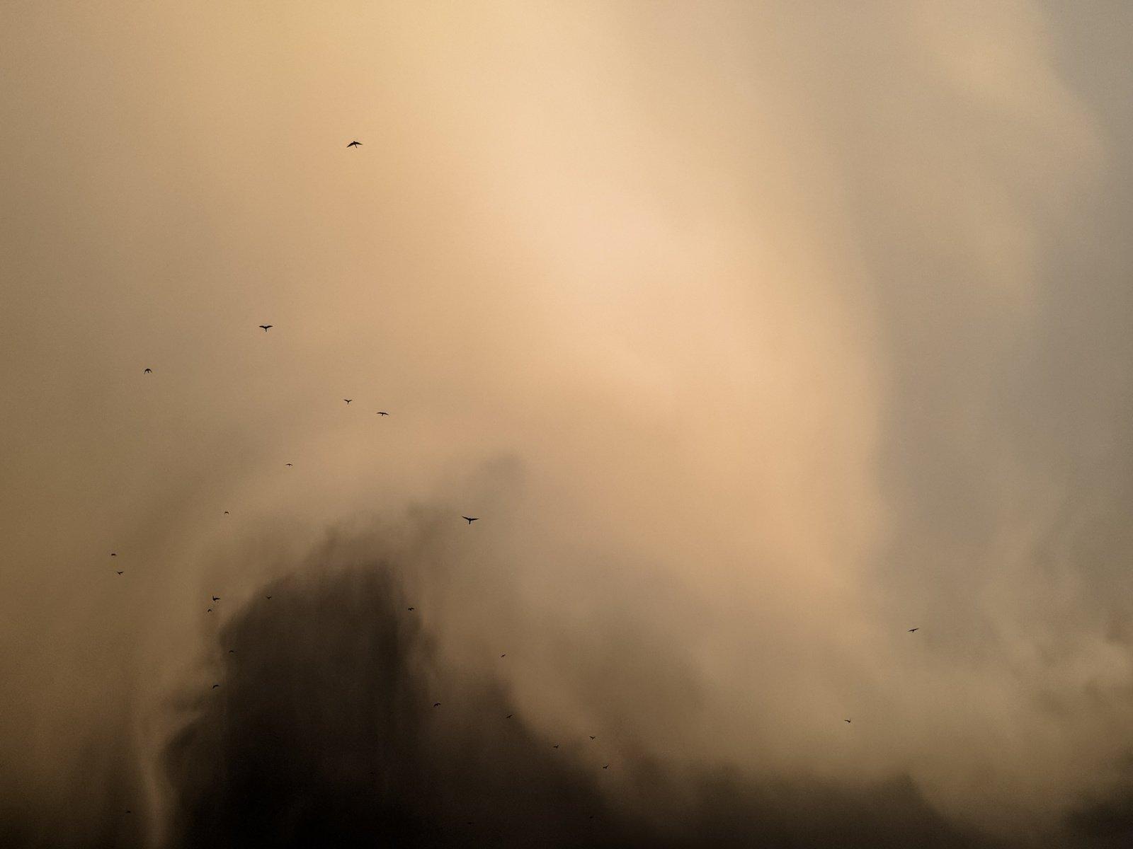 Sacharos dulkių debesis vėl sklinda per Europą