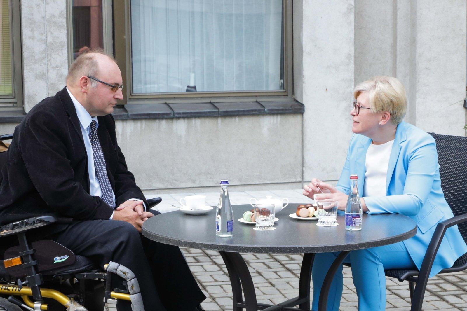 Premjerė: Medininkų tragedija visuomet primins pasiaukojimą už Lietuvos laisvę