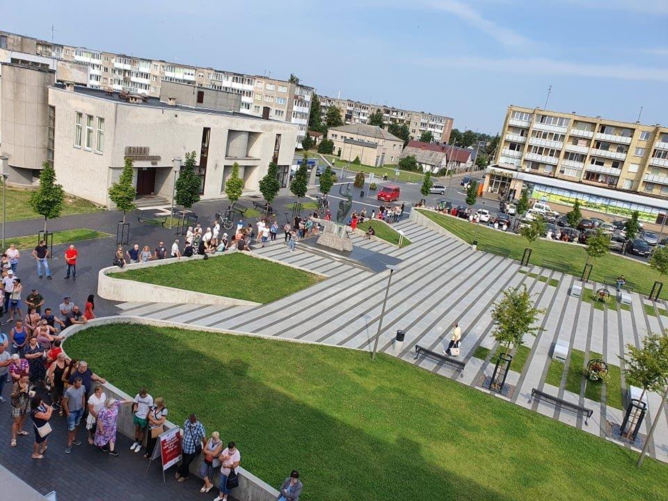 Skiepijimo akcija Radviliškyje pasiteisino – paskiepyti 605 žmonės