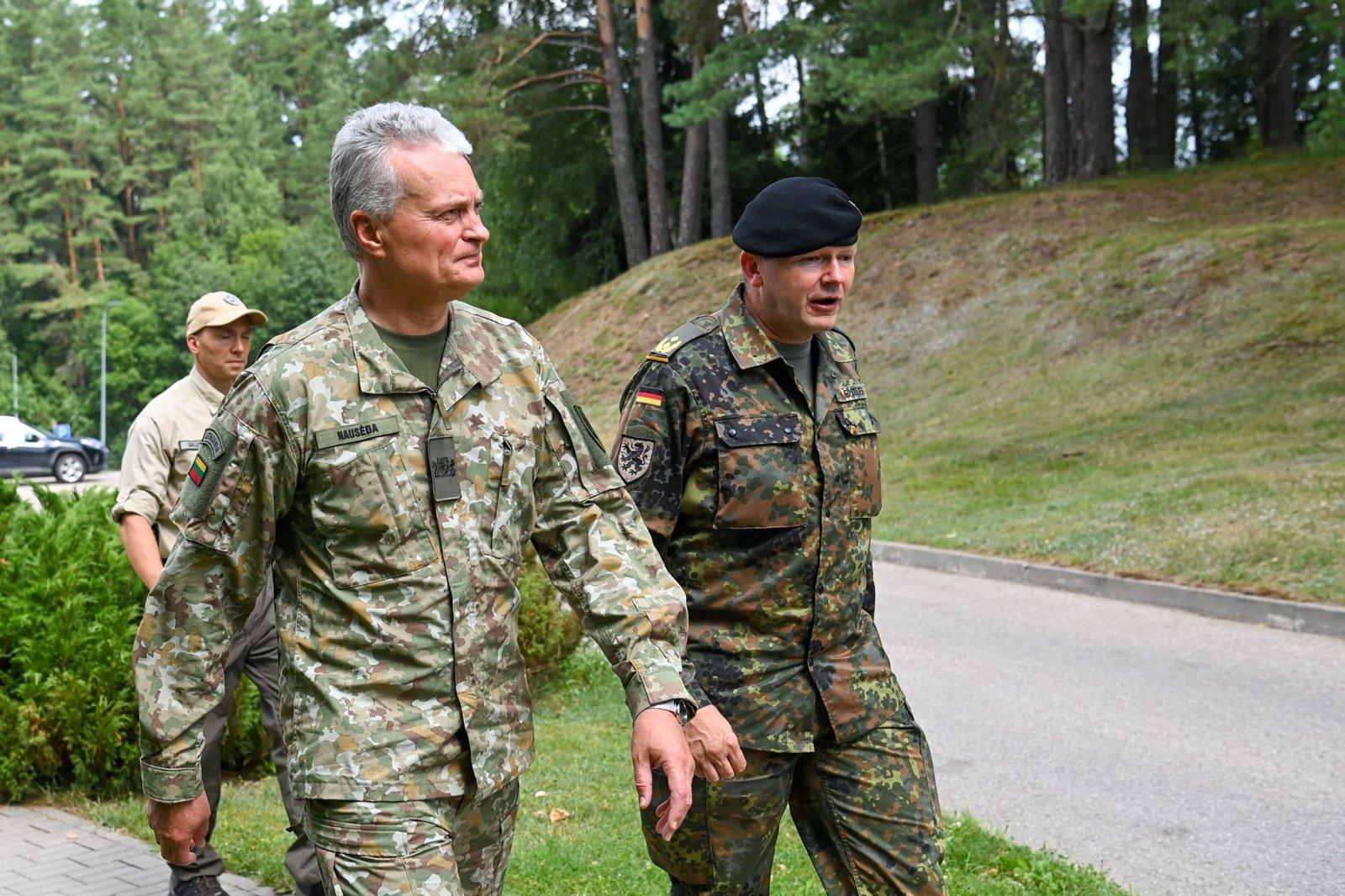 G. Nausėda: Lietuva pasiruošusi padaryti viską, kad atgrasymo efektas būtų maksimalus