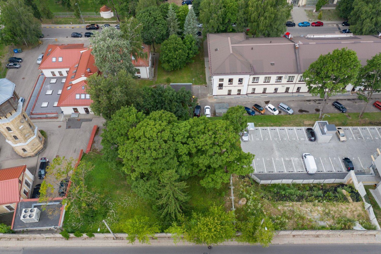 Sostinėje prie Sapiegų rūmų ir parko planuojama nauja viešoji erdvė