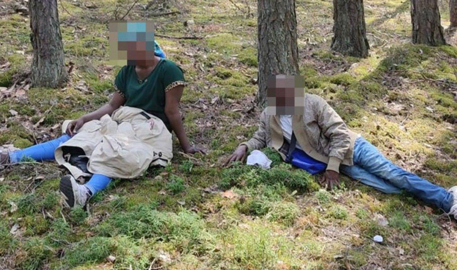 Trečiadienį sulaikyta 118 migrantų, iš Baltarusijos patekusių irakiečių skaičius perkopė 2 tūkstančius