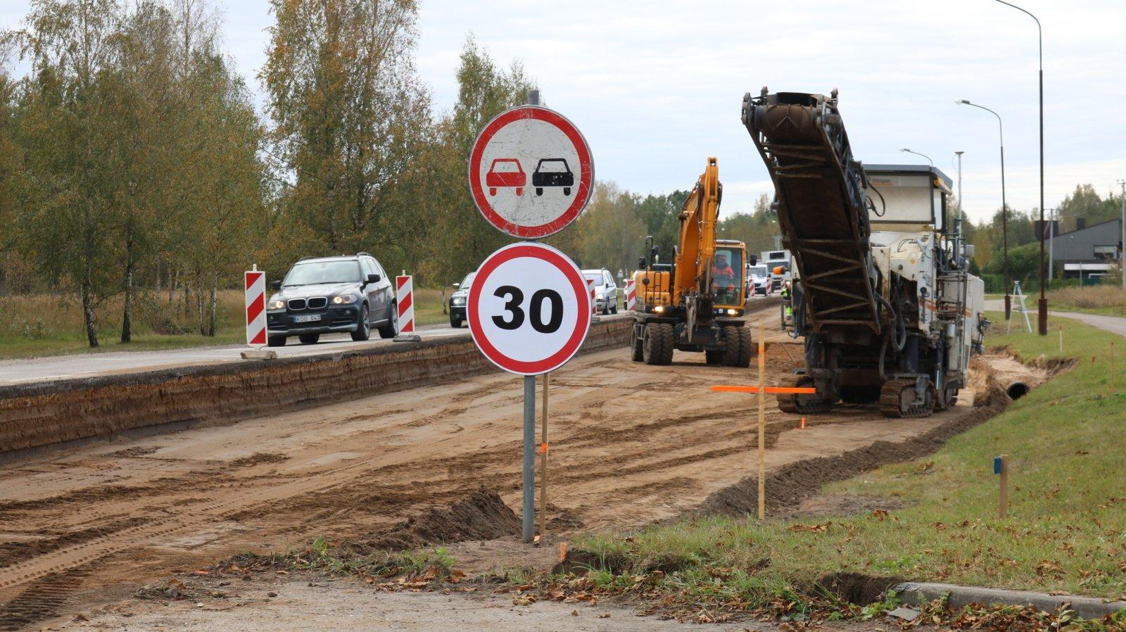 Keliams remontuoti paskirstyta dar 20 mln. eurų