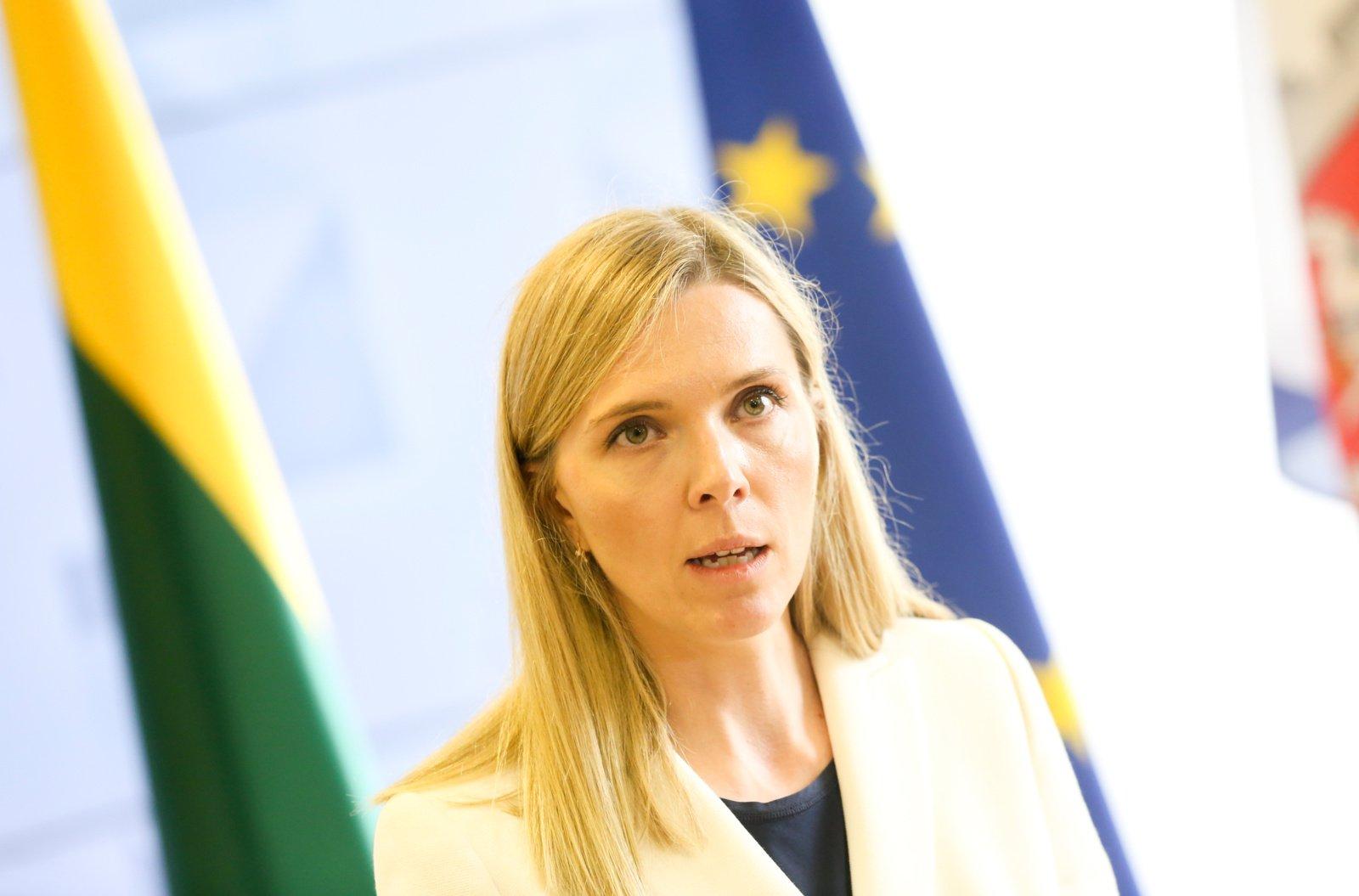 """A. Bilotaitė apie pasienyje su Baltarusija statomą tvorą: nenoriu, kad tai taptų """"auksinės tvoros"""" projektu"""