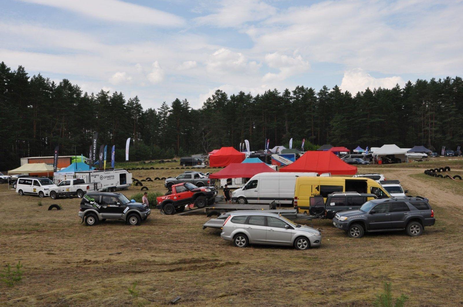"""Varėnoje prasidėjo """"lietuviškas Dakaras"""""""