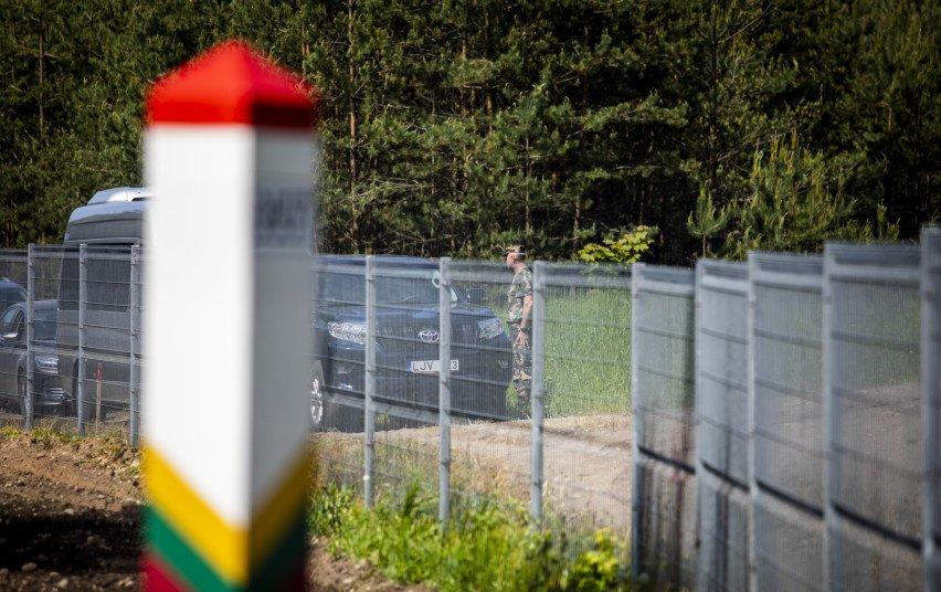 Estija ir JAV keisis informacija apie padėtį prie Lietuvos ir Baltarusijos sienos