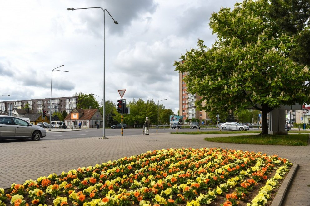 Panevėžyje pradėta įrenginėti modernius šviesoforus