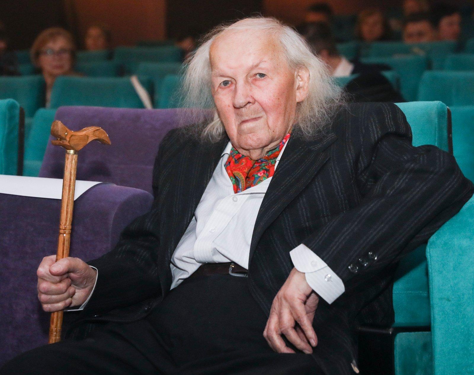 Kino operatorius A. Mockus švenčia 90-metį