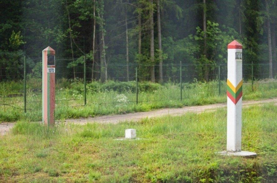 VSAT siūlo pasienyje su Baltarusija statyti tinklinę tvorą, ji kainuotų per 150 mln. eurų