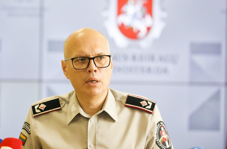 Į Lietuvą pasienyje su Baltarusija neįleista apie 180 migrantų