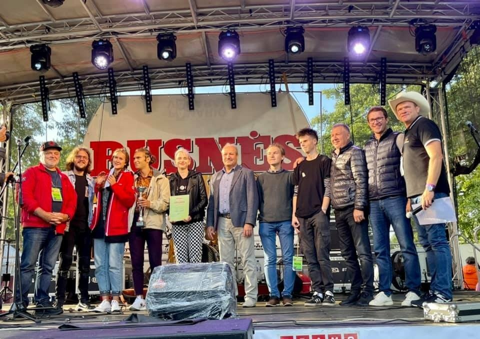 Rusnės festivalis sutraukė minią muzikos gerbėjų