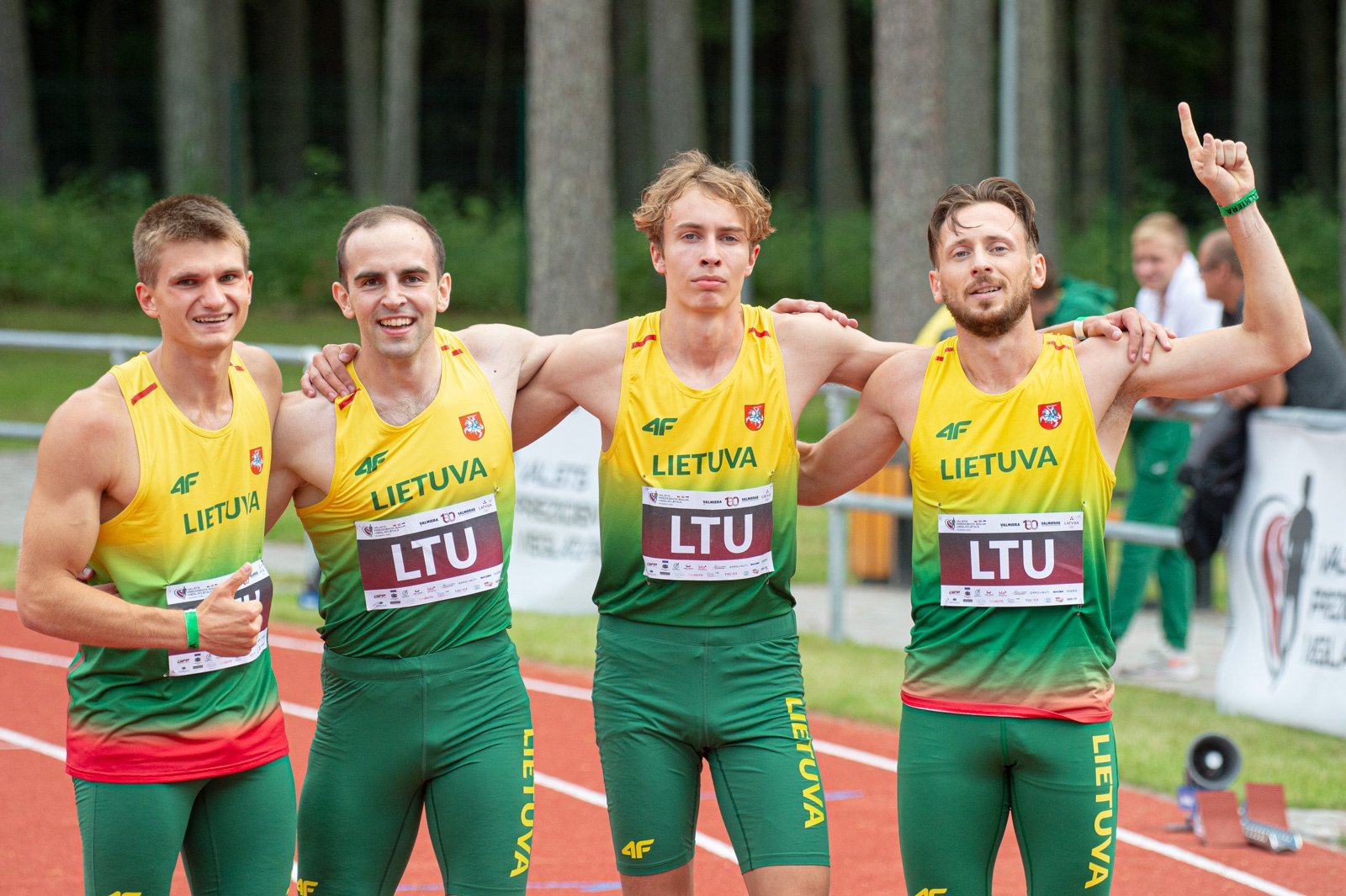 Baltijos lengvosios atletikos čempionate ir vėl daugiausiai pergalių iškovojo lietuviai