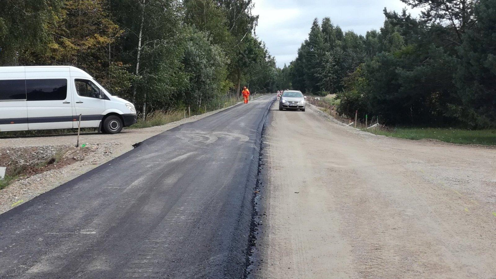 Biržuose ir rajone asfaltuojamos gatvės