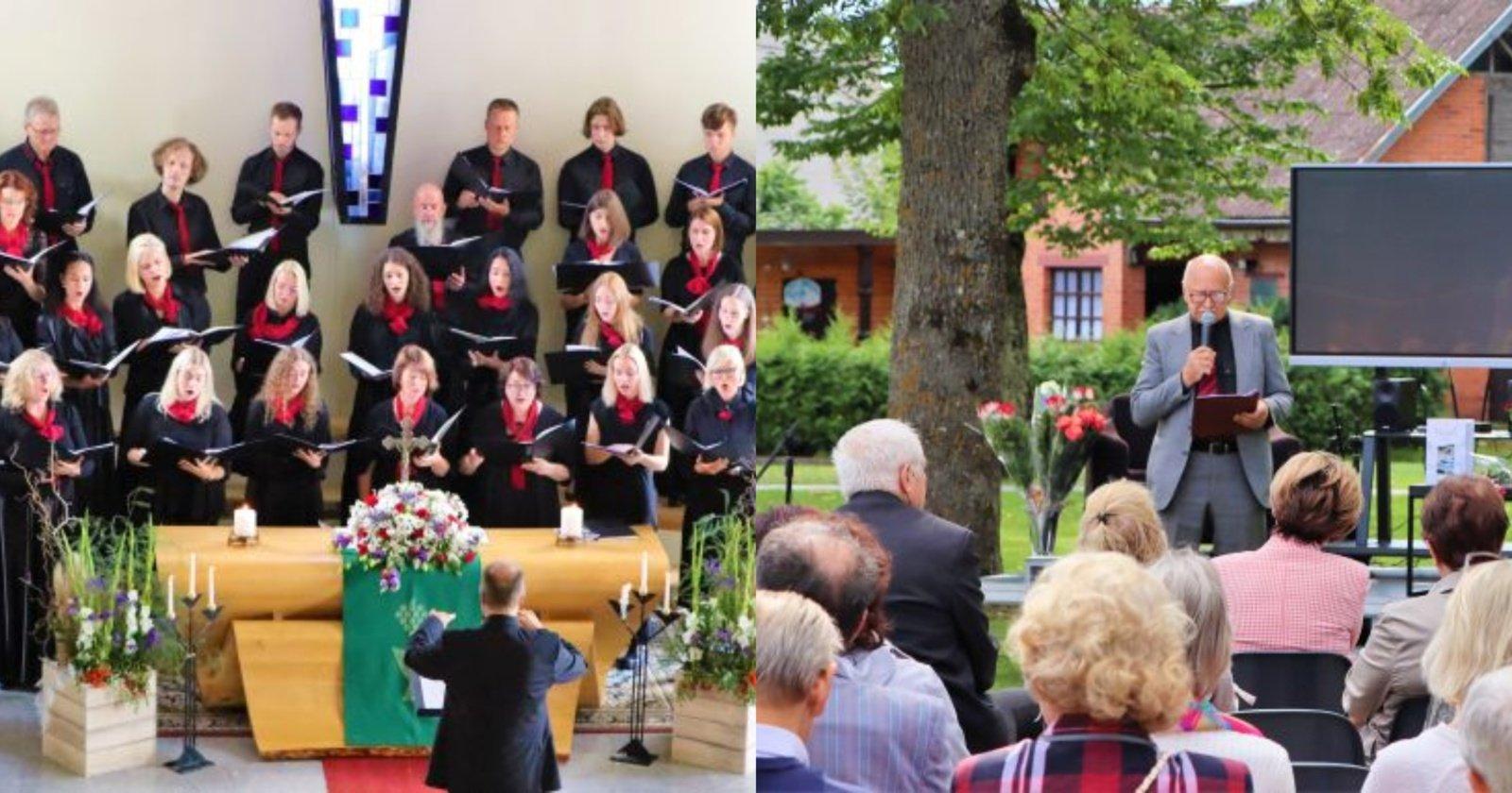 Jurbarko krašto šventė užbaigta iškilmingomis pamaldomis ir aktyviomis veiklomis